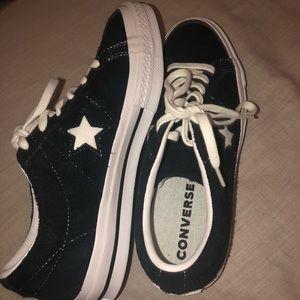 Converse Shoes - Converse One Star Vintage Suede Shoes